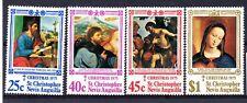 St. Kitts-Nevis (1828) 1975 Christmas- Religious Paintings set LMM Sg346-9