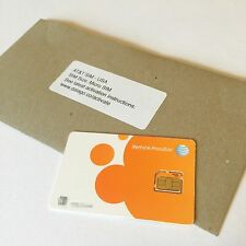 AT&T USA prepaid Micro SIM card - ATT US 4G/LTE, Aust Seller Fast Free Shipping