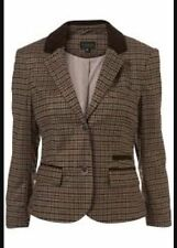 Topshop Wool Cropped Coats & Jackets for Women