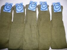 WHOLESALE JOBLOT OF 11 NEW PAIRS OF ARMY/KHAKI GREEN LEG WARMERS.80S RETRO/DANCE