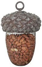 Large Acorn Wild Bird Ourdoor Feeder for Nuts, Fat Balls etc