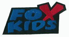 Patch écusson patche FOX KIDS thermocollant applique DIY brodé