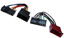 Adaptateur faisceau câble ISO autoradio pour Ford Fiesta Focus KA Maverick Probe