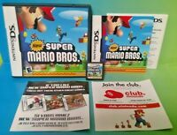 New Super Mario Bros. -  Nintendo DS DS Lite 3DS 2DS Game Complete Tested