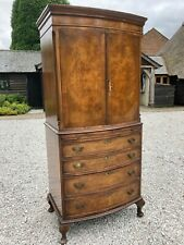More details for antique mahogany drinks cabinet