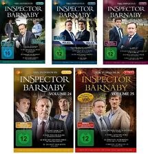 20 DVDs * INSPECTOR BARNABY - VOLUME 21 - 25 IM SET - Neil Dudgeon # NEU OVP &