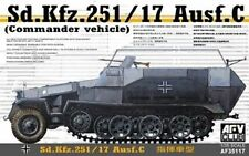 AFV CLUB GERMAN SD KFZ.251/17 AUSF C WWII Scala 1:35 Cod.35117