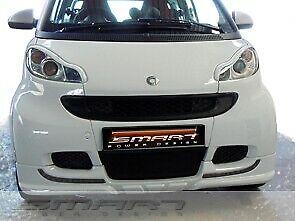 Front Spoiler Smart Fortwo 451 White