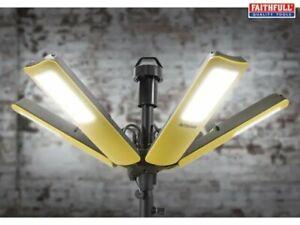 Faithfull Centaur Heavy-Duty Super Bright 16,000 Lumen 200w LED Site Light 240V