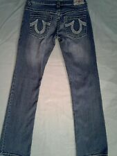 TRUE RELIGION JEANS.   Womens size 29.   Bobby Big T.   Nice condition