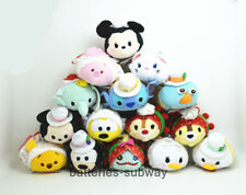Lot 15 pcs New 2nd Anniversary Birthday Tsum Tsum Stuffed plush Toy Doll Stitch