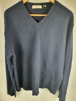 Country Road Dark Blue Wool Jumper Mend Size XL