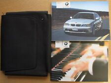 BMW 3 SERIES COUPE E46 HANDBOOK WALLET 2003-2006 PACK 13954