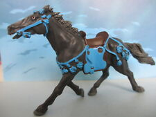 FIGURINE COLLECTION PLASTOY CHEVALIER CHEVAL MEDIEVAL MOYEN AGE KGNIGHT -105