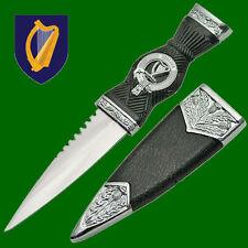 Irish Ireland Celtic Clan Erin Dirk Sgian Harp Sgian Dubh Knife Dagger Blade IE