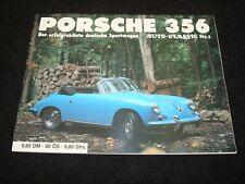 PORSCHE 356 DER ERFOLGREICHSTE DEUTSCHE SPORTWAGEN AUTO-CLASSIC No.1 GERM & ENG