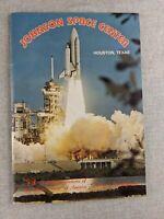 Vintage Johnson Space Center Souvenir Booklet Houston Texas