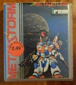 Original Nintendo NES Metal Storm Rental Case w/ Cardboard Insert *Ships Fast!