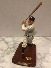 Danbury Mint Babe Ruth All Star Figurines Baseball Ny Yankee Figure Display