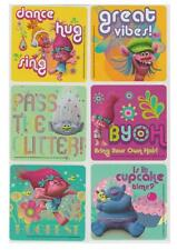 """25 Trolls Movie Stickers, Assorted 2.5""""x2.5"""" each, Party Favors"""