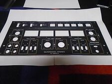 SONY TC-654-4 REEL TO REEL BOTTOM CONTROL PANEL USED