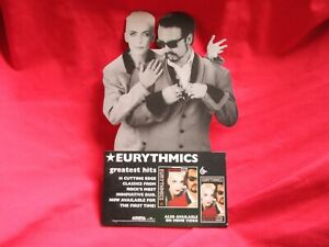 Eurythmics Desktop Promotional Stand Up Greatest Hits Never Used Arista Records