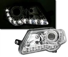 2 FEUX PHARE AVANT LED DEVIL EYES VW PASSAT B6 2005 - 2010
