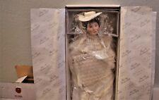 "Ashton-Drake  ""Flora the 1900 Bride""  Porcelain Doll Mint"