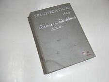 Specifications The Standard Reference Book For Achitects, Surveyors and  ...
