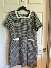 Nicole Summers, Woman, 18, Dress, Navy & White, Fully Lined, Short Sleeves