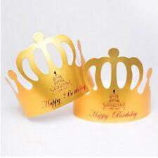 Children Decoration 10Pcs/Lot Hats Headgear Birthday Hat Crown Cap Party Hat