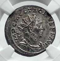 TACITUS Authentic Ancient 275AD  Genuine Roman Coin PAX PEACE NGC MS i81341
