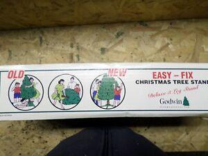 Godwin Large Folding Steel Christmas Tree Stand Indoor/Outdoor