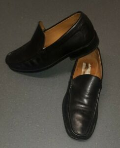 Mens Fabulous L1 Loake Leather Loafers Shoes Black SIZE  UK7 / 41EUR