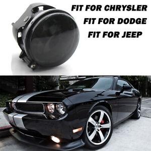 Smoked Len Fog Light Fit For Dodge Challenger R/T SRT8 SXT/Chrysler /Jeep