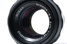 Nikon NIKKOR-S.C Auto50mm F1.4 Non-Ai Lens SN1448943