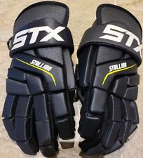Youth Stx Stallion 200 Black Lacrosse Gloves~Size M Excellent condition