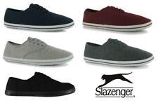 *SALE* Slazenger Mens Canvas Shoes pumps  UK 7-13 Plimsolls casual trainers daps