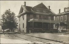Sterling IL Cancel - Wynn Residence West 3rd St. c1910 Real Photo Postcard