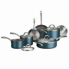 Tramontina 11-Piece Nonstick Cookware Set in Teal