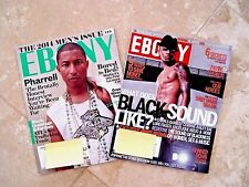 2 Ebony Magazines Chris Brown June 2008 Pharrell Nov 2014 Magazine Trafficking