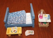 """Fisher-Price Vintage Musical Loving Family """"Surprise Breakfast in Bed"""" #74806"""