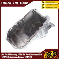 Oil Pan for Ford Mustang 94-04 Thunderbird 90-97 Mercury Cougar 90-97 FP75A