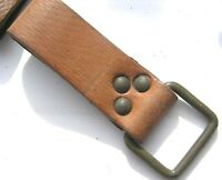 CZECH ARMY BELT LOOP / CARRY ATTACHMENT in TAN LEATHER