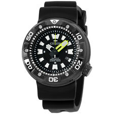 Citizen Promaster Diver Black Dial Silicone Strap Men's Watch BN017519E