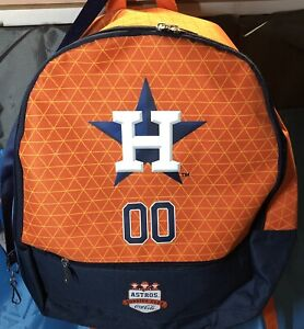 Houston Astros Buddies Backpack And Lanyard