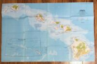 National Geographic MAP  April 1976  HAWAII