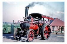 gw0200 - Steam Traction Engine unknown location - photograph