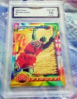 MICHAEL JORDAN 1993 Topps Finest GEM MINT 10 Chicago Bulls HOF 6x Champion MVP $