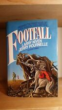 Footfall SCI FI Larry Niven  HTF  First Printing hardback with dust jacket